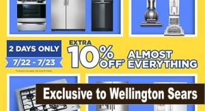 Wellington 3-day flash exclusive store