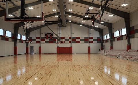 gymnasium inside