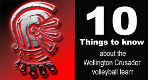 10 things to know about volleyball team