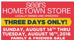 Sears Family & Friends Sale Feature 8-11-16