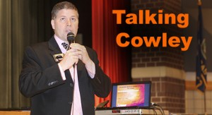 Talking Cowley