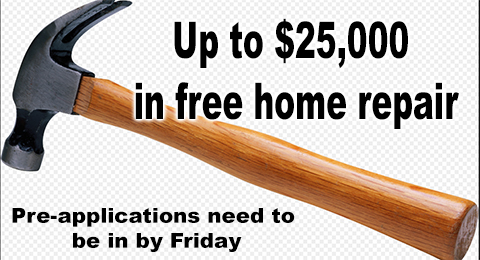 Up to $25,000 hammer