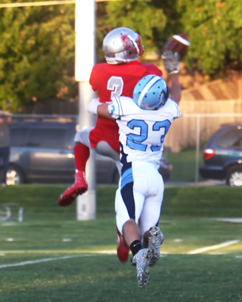This was De'Andre Washington during a catch against Clearwater a couple weeks ago.