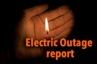 Electric Outage report