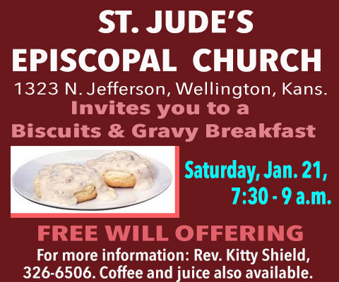 St. Jude's Breakfast Episcopal Church display ad