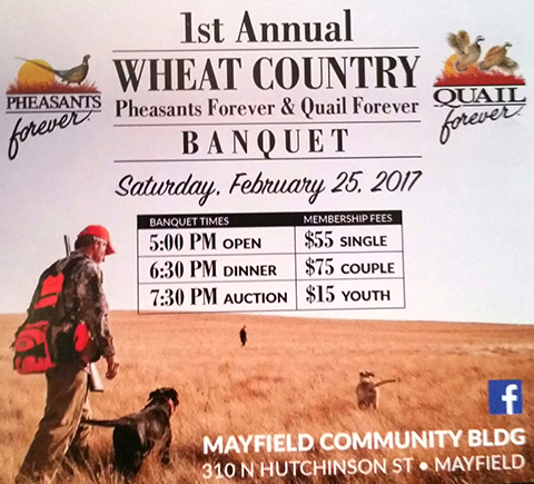 First annual Wheat Country Pheasant