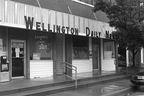 Memorial Day blog: Who killed the Wellington Daily News